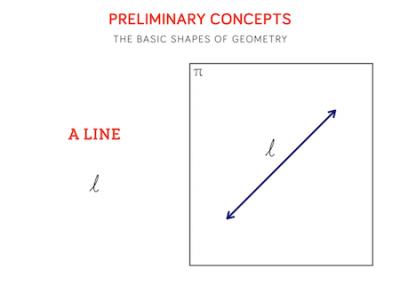 2 - A line